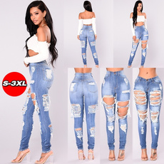 womens jeans, Plus Size, distressedjean, skinny jeans