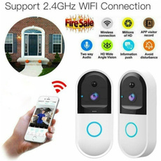 wifidoorbellsmartvideo, Door, ringdoorbell, Phone