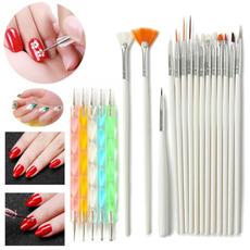 Design, dottingpen, Belleza, nailartbrushe