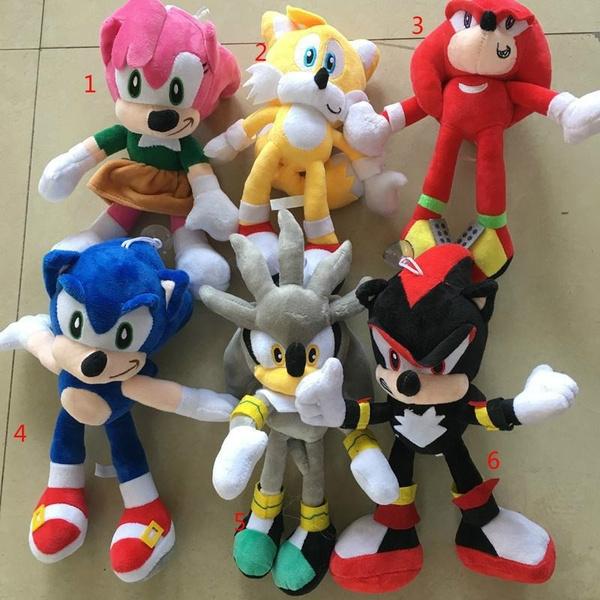 Sonic The Hedgehog Plush Toy Tarsnak Hedgehog Doll Wish