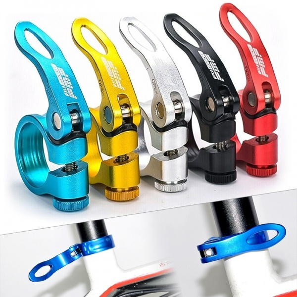 Quick release parts for bicycles seats Clamp Aluminium Alloy