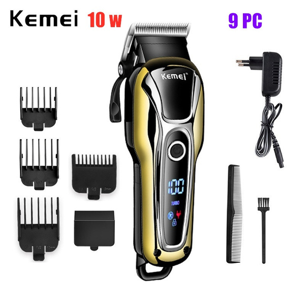 electrichairtrimmer, Machine, Rechargeable, led