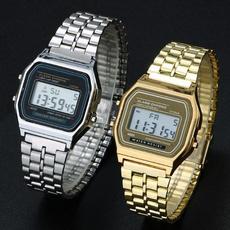 Steel, Stainless, quartz, Watch