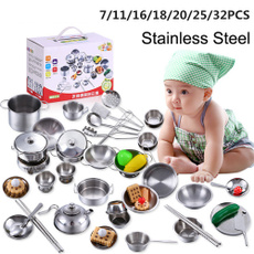 Steel, Mini, Kitchen & Dining, miniaturekitchenware