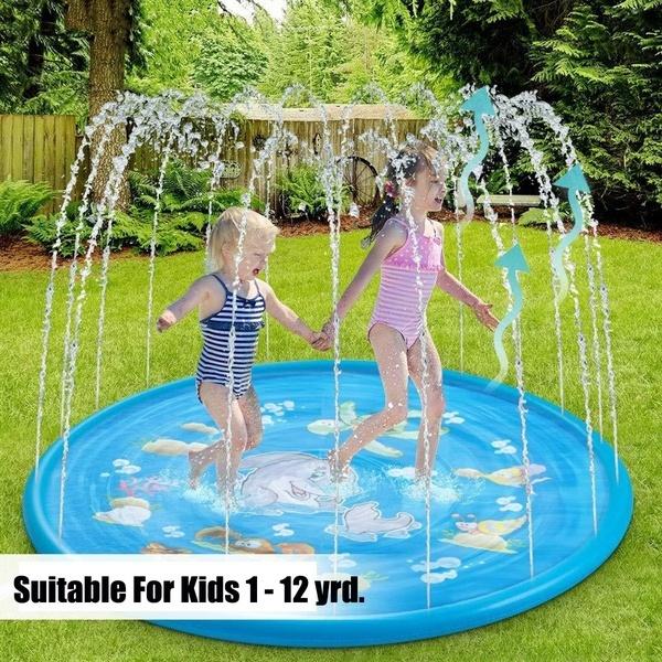 Fun Splash Water Toy Playground Toddler