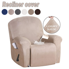 Full Coverage Stretch Recliner Chair Covers Washable Non