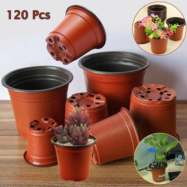 Flower Pot Plastic Garden Nursery Pots