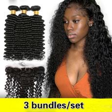 curlyhairpiece, 3hairbundle, Hair Extensions, brazilian