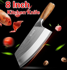 Steel, Kitchen & Dining, Laser, damascusknife