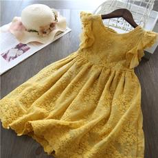 Summer, girls dress, Fashion, Lace