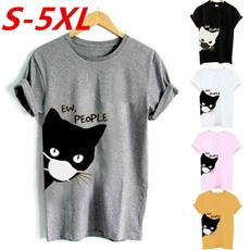 cute, Plus Size, Summer, Shirt