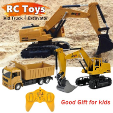 Toy, Remote Controls, Gifts, excavator