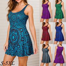 Mini, Fashion, Necks, Party Dresses