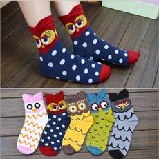 cute, womensock, art, Cotton Socks