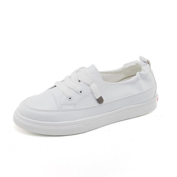 Low-Cut White Shoes Women's 2020 Summer