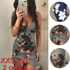Women S Clothing, halterback, Floral print, sexy dresses