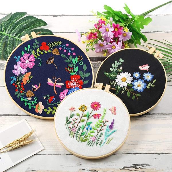 DIY Handmade Crafts Embroidery Starter Kit Cross Stitch Suit Needle Thread Kit