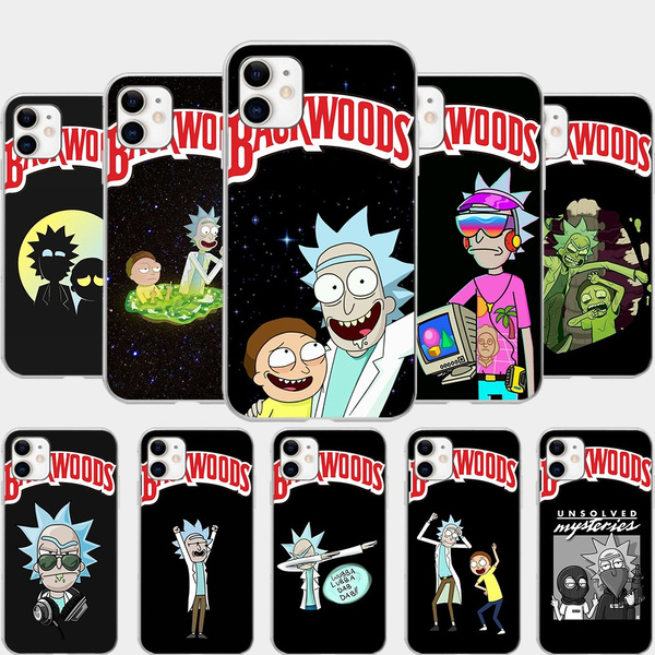 backwoods rick and morty case