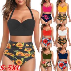 Bikinis Set, women beachwear, plus size bikinis, Plus Size Swimwear