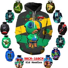 3D hoodies, Funny, boyshoodie, brawlstar