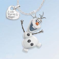 snowman, Fashion, engravednecklace, Jewelry