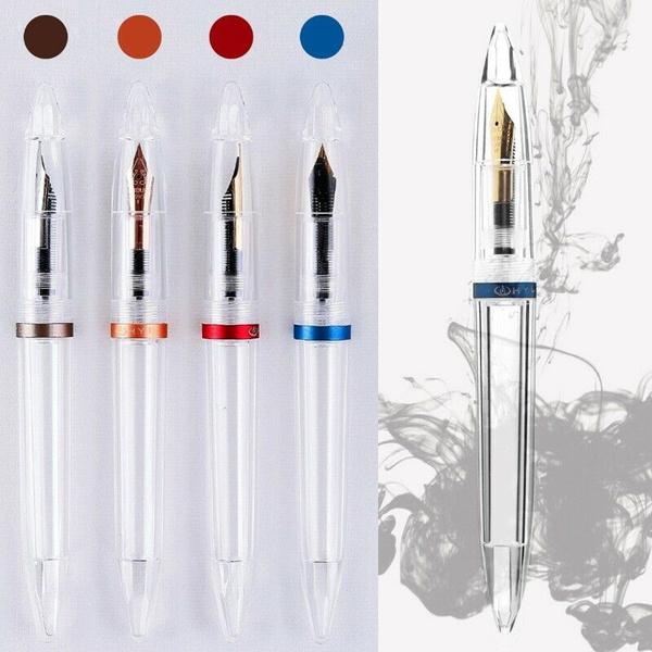 Retro Bamboo Rollerball Pen Gel Pen Gift for Kids Friends Staff Elders 5.7/'/'