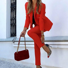 Summer, Two-Piece Suits, office dress, pants
