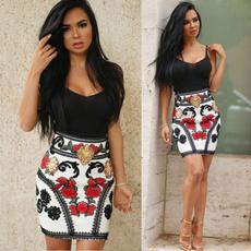 suspenders, Fashion, high waist, Dress