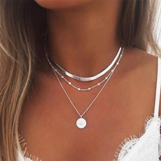 Sterling, simplenecklace, Fashion, 925 sterling silver