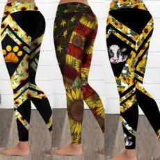 Leggings, Plus Size, Yoga, Fashion