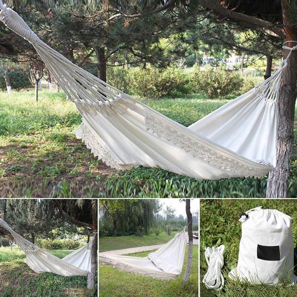New Indoor Outdoor Comfort Durability Hanging Chair Large Hammock Chair Wish