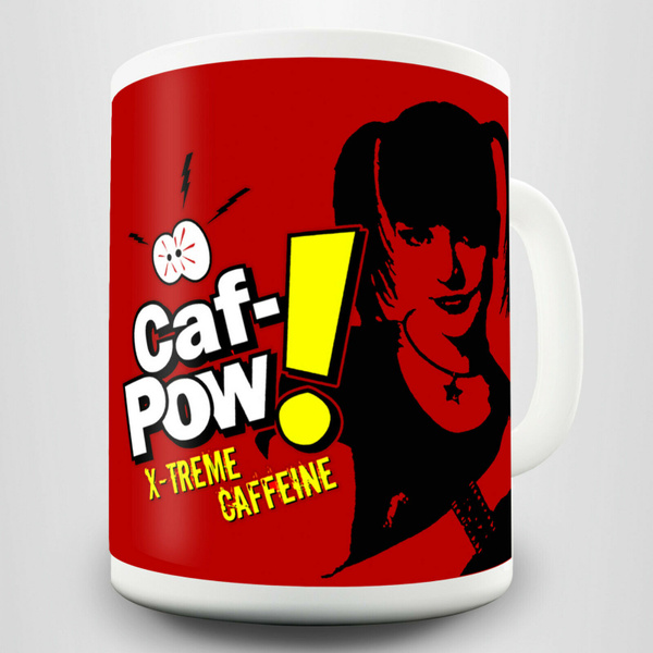 Caf Pow Abby Gift Mug Inspired By Abby Scuito Forensic Scientist In Ncis Wish