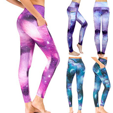 Leggings, Fashion, cosmicgalaxylegging, withphonepocket
