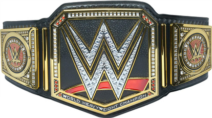 WWE, Collectibles, championship, black