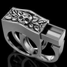 ringsformen, Fashion, 925 sterling silver, Skeleton