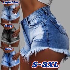 Mini, Shorts, pants, washeddenim