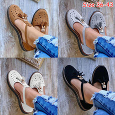 Summer, Tassels, Sandals, shoes for womens