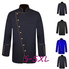 Stand Collar, Jacket, Plus Size, clergyrobe
