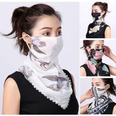 máscarasdeprotecciónsolar, halffacemask, gasa, apruebadeviento