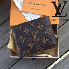 leather wallet, shortwallet, Fashion, Wallet