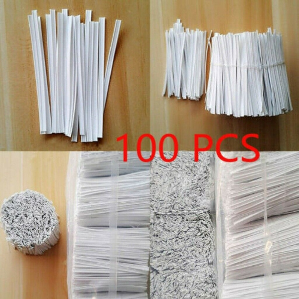 100pcs Lot Disposable Face Mask Elastic Cord Nose Bridge Clips