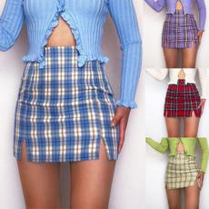 Summer, high waist skirt, Fashion, Mini