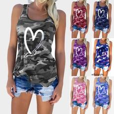 Tanktops for women, Vest, Moda, Corazón
