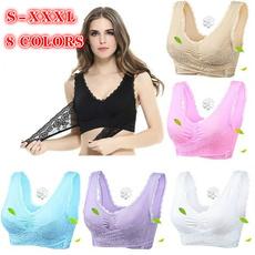 Underwear, Sports Bra, Lace, Buckles