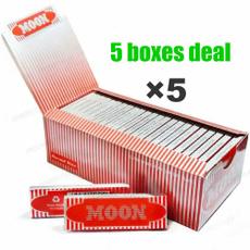 Box, regularsize, Moon, cigarettepaper