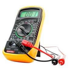 tester, Multimeter, Yellow, excel