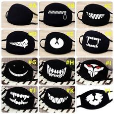 maskswithcartoonpattern, scary, Fashion, dustmask