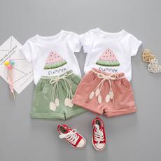 girls dress, Shorts, letter print, Tops