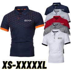 Summer, polo men, Slim T-shirt, simpleshirt