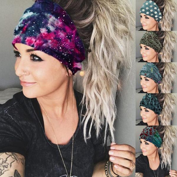 starryskyprinted, scarf, Head, Fashion